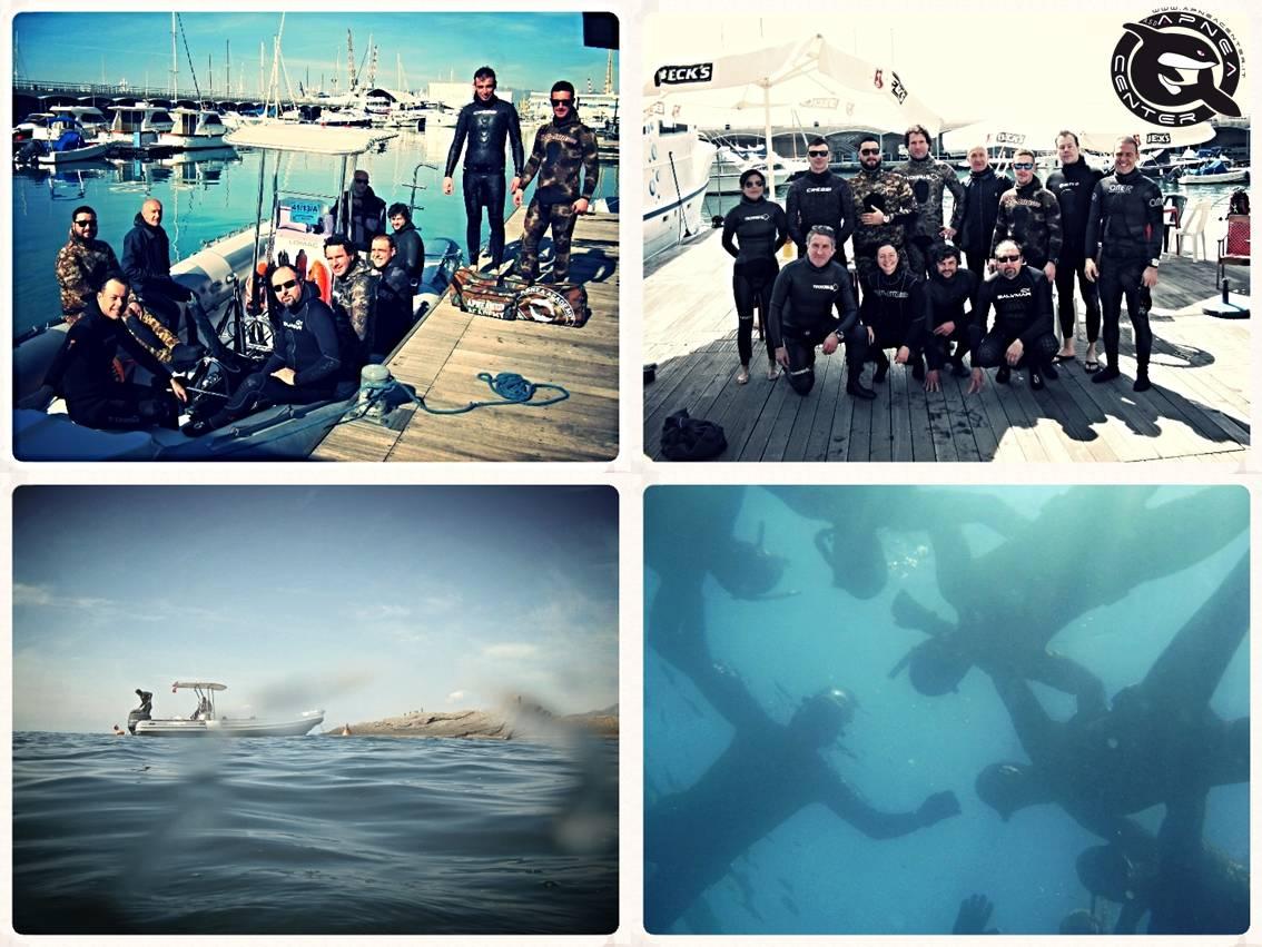 marzo 2014 corso apnea collage